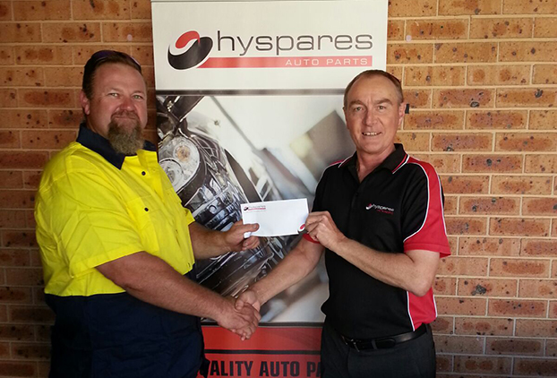 Hyspares Competition Winner