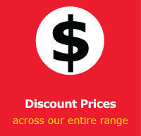 Discount Prices across our entire range